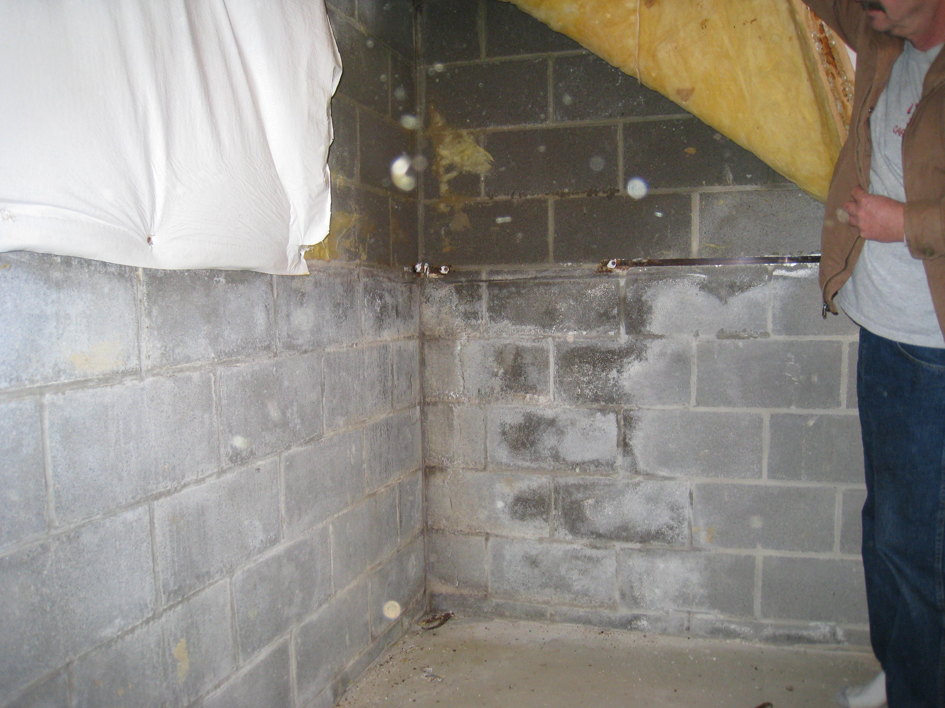 What do wet or damp basement walls mean all points for Basement foundation walls